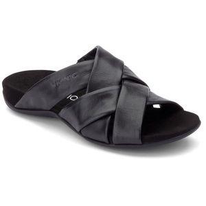 Vionic Juno Black Slide Sandals. Size 11 Wide